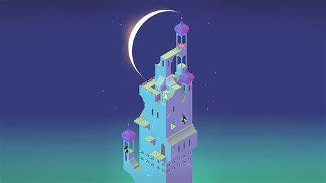 wallpaper monument valley game monument valley twilight 4k ultra hd wallpaper and