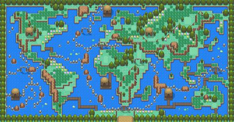 layout of safari zone in fire red frysla safari zone by sylver1984 on deviantart