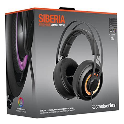 Steelseries Siberia Elite Black steelseries siberia elite prism gaming headset jet black