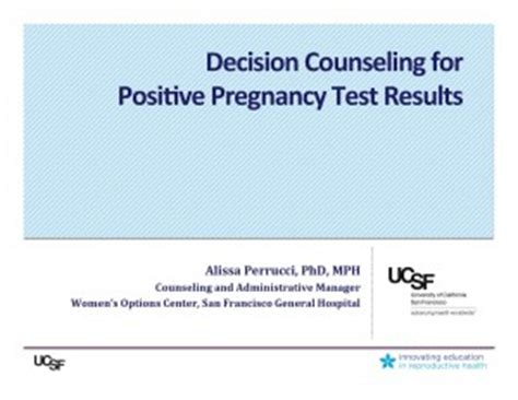 Positive Asset Search In Counseling Decision Counseling For Positive Pregnancy Test Results Innovating