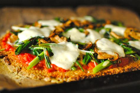 Http Www Furtherfood Recipe Detox Friendly Cauliflower Pizza Gluten Free by Cauliflower And Almond Pizza Crust With Fresh Sauce And