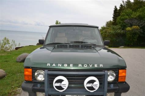 how does cars work 1991 land rover range rover engine control sell used 1991 range rover in milwaukee wisconsin united states for us 6 000 00