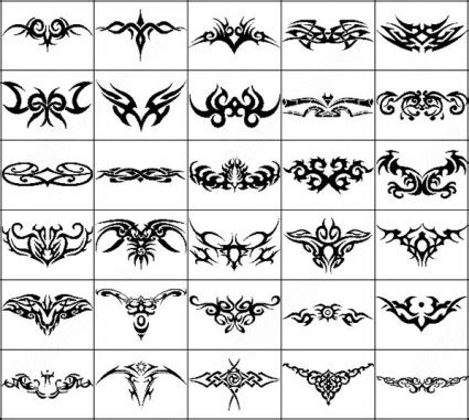 tribal pattern photoshop 16 tribal photoshop brushes images free photoshop tribal