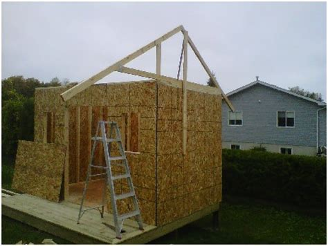 Trusses For A Shed by Building A Shed Roof Is Easy When You How