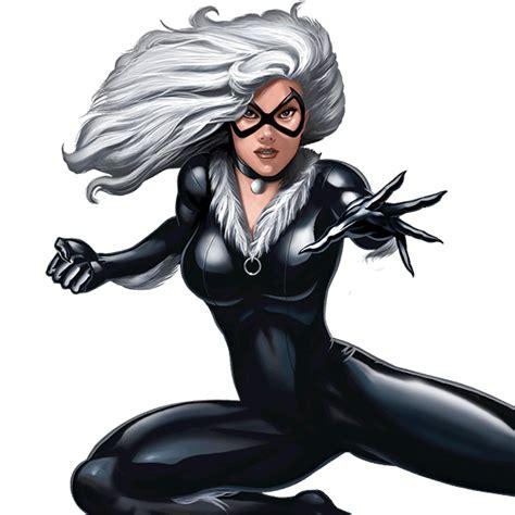The Black Cat Marvel Comics M008 Iphone 5 5s Se Casing Custom Hardc black cat spider characters marvel image 4250502 par lexibear sur favim fr