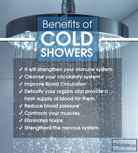 Benefits Of A Shower by Take A Cold Shower For Your Health Drjockers