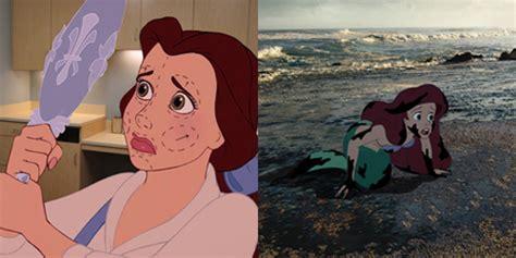 film cinderella nyata foto kisah suram kartun disney di kehidupan nyata beauty