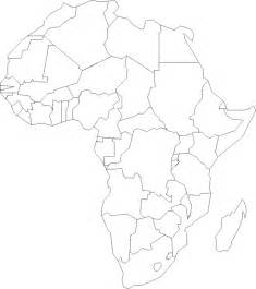 Printable Map Of Africa by Printable Maps Of The 7 Continents