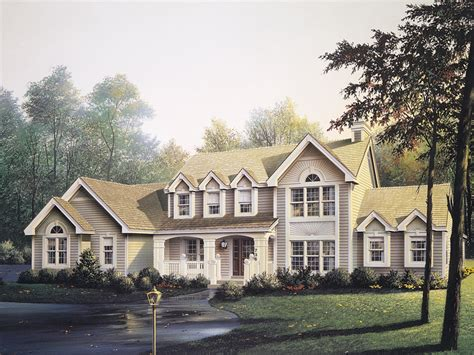 Two Story Cape Cod House Plans by Summerridge Cape Cod Home Plan 007d 0072 House Plans And