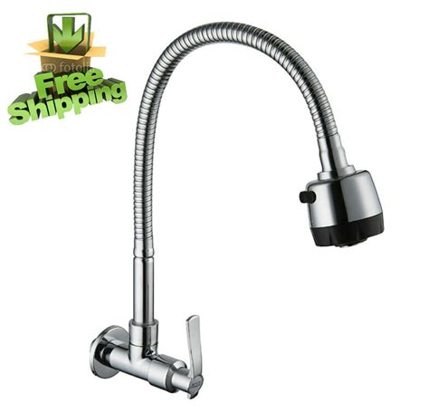 Crane Faucets by Pull Up Rotate Kitchen Sink Tap