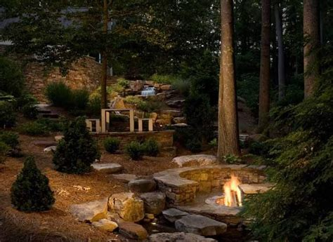 woodland pit country landscape design nc photo gallery