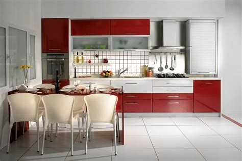 red and white kitchen cabinets red and white kitchen cabinets home furniture design