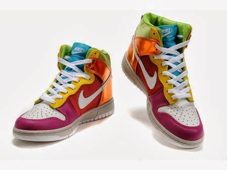 nike colorful sneakers nike dunks custom design sneakers rainbow nikes colorful