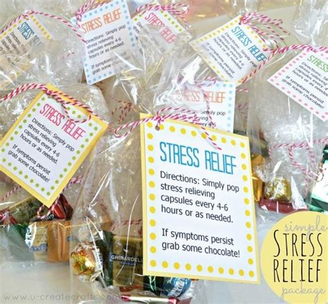 stress gifts and simple on pinterest