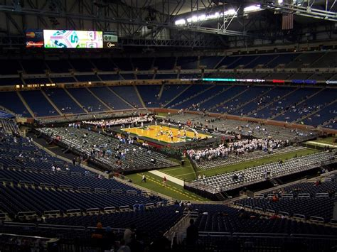 Ford Basketball by File Ford Field Basketball Configuration Jpg Wikimedia