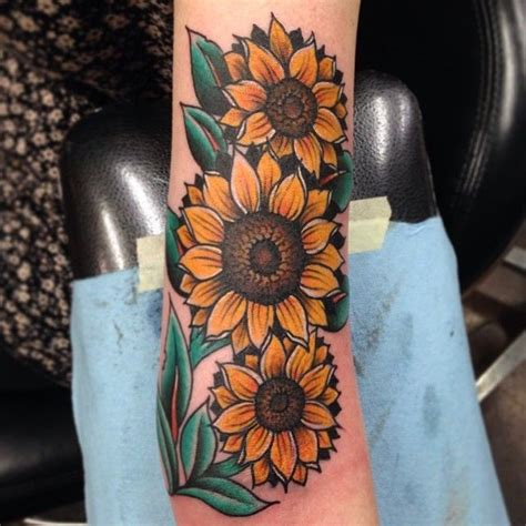 traditional style sunflowers ideas