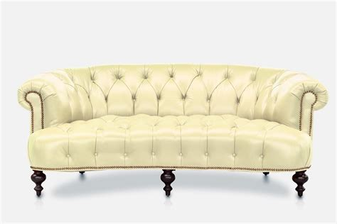 curved leather sofa curved chesterfield sofa curved chesterfield sofa custom