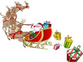 santa and sleigh santa sleigh clipart clipart suggest