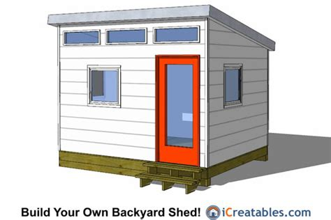 download plans to build your own modern micropolis tiny 10x12 shed plans building your own storage shed