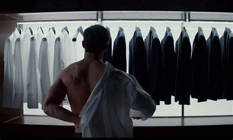 Fifty Shades Of Grey Wardrobe fifty shades of grey review entertainment fuse