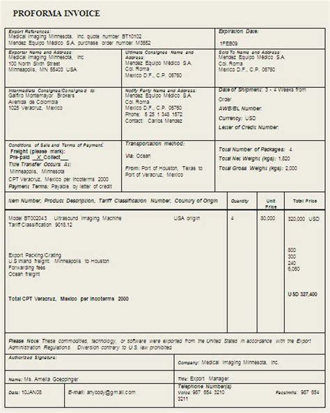 proforma invoice what is a proforma invoice and why use one