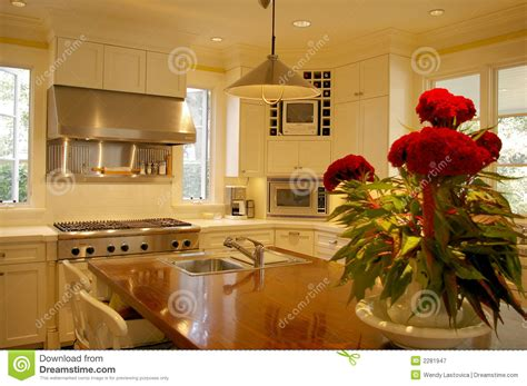 kitchen island centerpiece kitchen island royalty free stock photography image 2281947