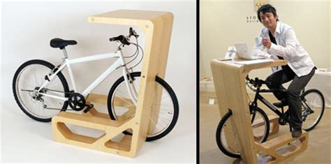 Diy Bike Desk Bicycle Desk