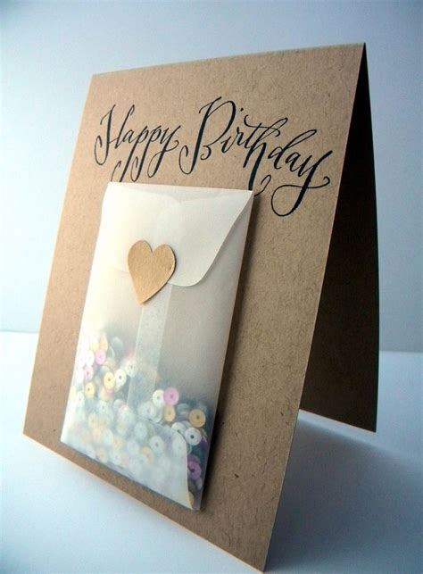 Simple Handmade Cards For Birthday - 17 best ideas about easy handmade cards on