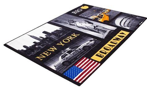 Teppich Andiamo 187 New York 171 Motiv Teppich Getuftet