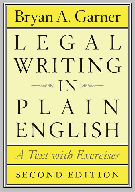 business text exercises books writing in plain second edition a text