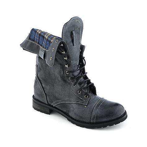 shiekh cheer 01 womens mid calf combat boots