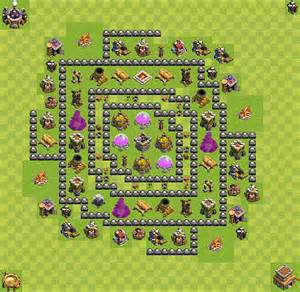 Pics photos insane th 8 farming base plan clash of clans builder