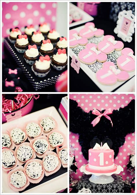 Minnie Mouse Birthday Decorations by Photo S Courtesy Of Menon Of Bee S Knees