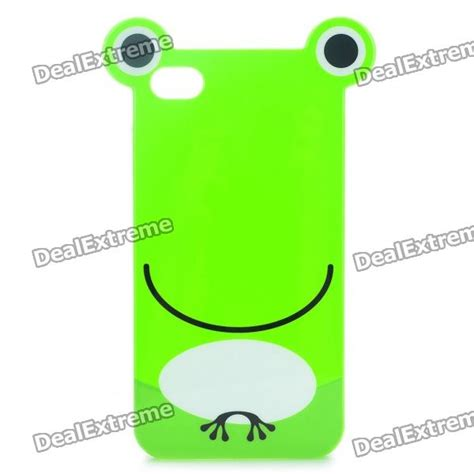 Frog Tpu For Iphone frog protective tpu for iphone 4 4s with screen protector guard green