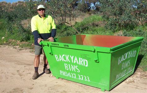 backyard bins backyard bins rubbish removal skip bins huntingdale
