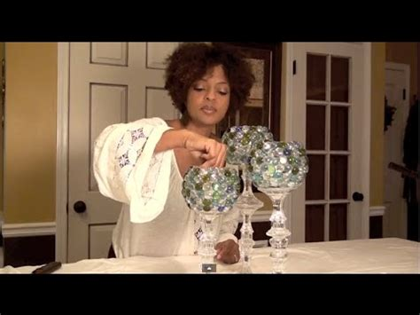 Diy Dollar Tree Home Decor Decorative Glass Candle Holders Centerpiece E2 Part1