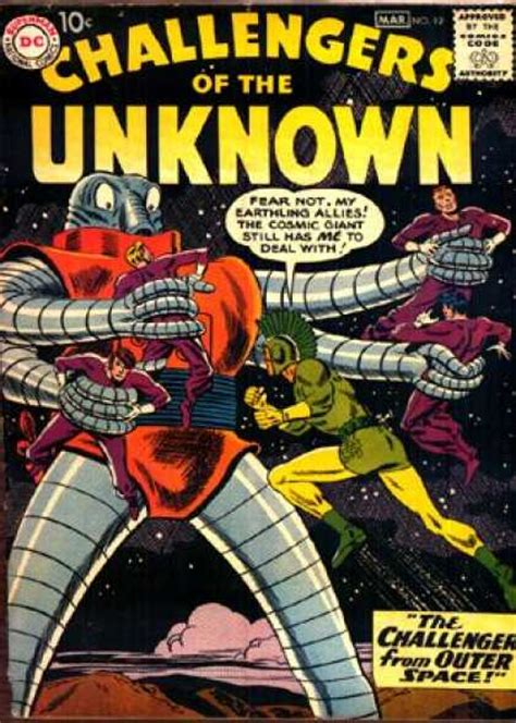 challengers of the unknown challengers of the unknown covers
