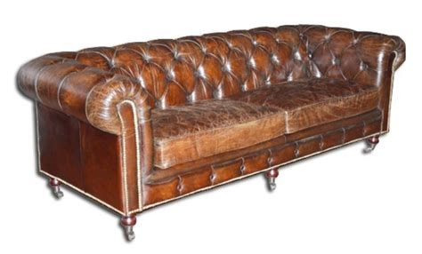 Canape Chesterfield Vintage 1205 by Canape Chesterfield Vintage Canap 2 3 Places Chesterfield