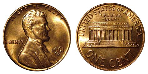 Paper Holders 1961 d lincoln memorial cent copper alloy penny value and