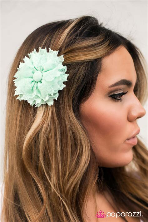 Lace Hair Clip lace be honest paparazzi hair clip paparazzi jewelry