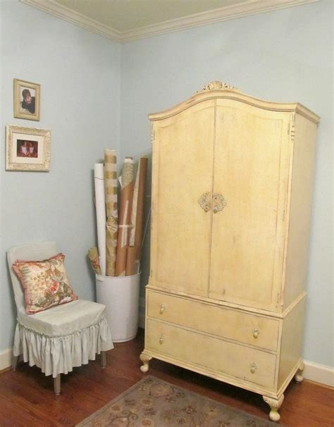 sewing armoire cabinet french armoire turned sewing cabinet storage projects