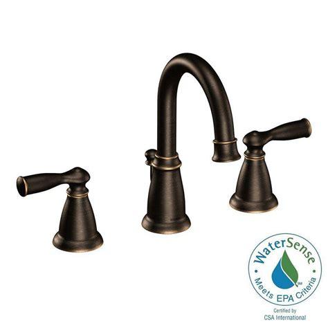 moen banbury bathroom faucet moen banbury 8 in widespread 2 handle bathroom faucet in mediterranean bronze ca84924brb the