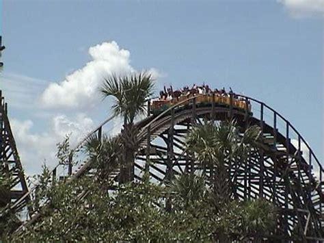 Busch Gardens Gwazi by Gwazi Coaster Photos