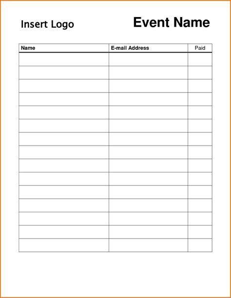 team sign up sheet template portablegasgrillweber com