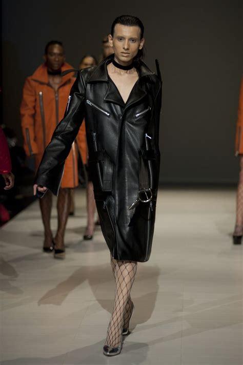 Fashion 832 Leather d2fat2016 luomostrano 17 jpg genderless fashion leather fashion wearing