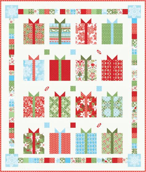 Pattern For Christmas Quilt | quilt inspiration free pattern day christmas part 2