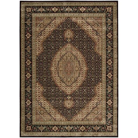 9 x 10 rug nourison arts black 7 ft 9 in x 10 ft 10 in area rug 693402 the home depot