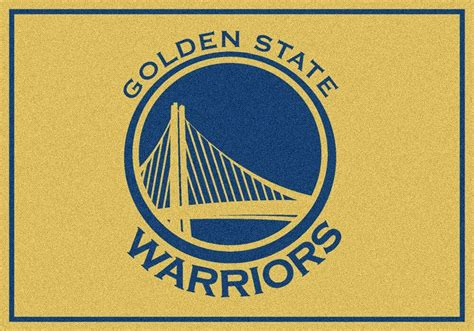 Rug Logo by Golden State Warriors Logo Rugs Rug Rats