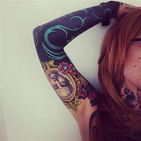 new school elbow tattoo new school bold frame man and elbow blackwork tattoo