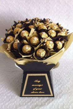 Buket Snack Wisuda Ss 10 Bouquet Graduation ferrero rocher chocolate bouquet handmade in colours selected by the client purple pink gold